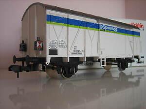 Märklin 58265 Gauge 1 Freight Wagon Point S Tail Light Like New Original Box