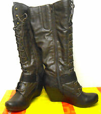 BareTraps Darleen Brown Womens Shoes Size 10 M BOOTS