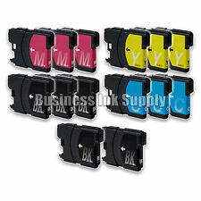 14PK New LC61 Ink Cartridge for Brother MFC-495CW MFC-J410W MFC-295CN LC61 LC-61