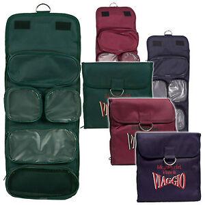Luxury Viaggio Designer Travel Toiletry Toiletries Pack Wash Cosmetic Shower Bag