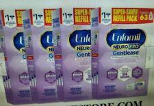 FACTORY SEALED Enfamil NeuroPro Gentlease Infant Formula 4 Boxes 55 x 4 Refills