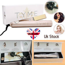 TYME Iron PRO Styling Hair Tool Curling Hair Straightener Wand UK PLUG Party Hot
