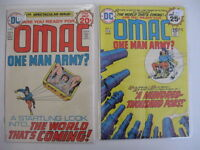 *OMAC #1-8 LOT 7 Books All Kirby Guide $108