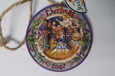 Jim Shore Heartwood Creek Christmas Ornament Enesco C4008763 Nativity Mary Jesus