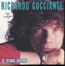 RICHARD COCCIANTE 45 TOURS GERMANY SE STIAMO INSIEME