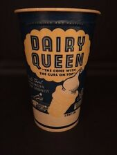 "1960's Dairy Queen, ""Un-Used"" 1-Pint Drinking Cup"