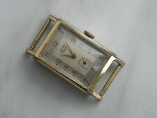 RARE Men`s GUB Glashütte Watch Art Deco Cal. 62 1950`s