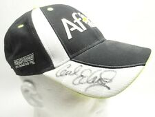 NASCAR Aflac Racing Hat Black / White Hat Autographed Carl Edwards #99 Cap