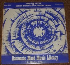 MUSIC LIBRARY HARMONIC MOOD brass and rhythm WERNER WINDLER 1972 STEREO HAMMOND