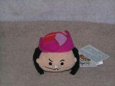 "Disney Tsum Tsum Captain Hook Authentic 3.5"" plush collectible Nwt Usa"
