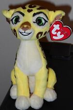 "Ty Beanie Baby ~ Disney The Lion Guard FULI 6"" Plush Toy ~ NEW with MINT TAGS"