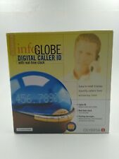 Olympia Info Globe Digital Caller ID with Real-Time Clock OL3000LB