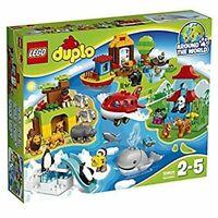 LEGO Duplo Around the World set 10805 5702015597920 163 Piece Animal Toys