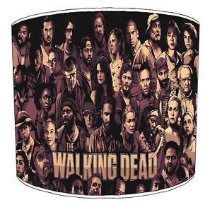 The Walking Dead Zombie Lampshades Ideal to Match Wall Decal Stickers Wallpaper