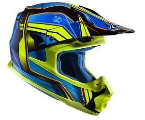 Casco Helm Casque Helmet HJC FX-CROSS PISTON GIALLO L
