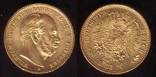 10 Mark Gold Preussen 1873 fast stempelglanz !