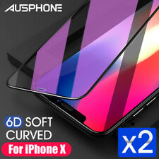 2x iPhone 12 11 Pro XS Max XR 8 7 Plus Screen Protector Tempered Glass For Apple