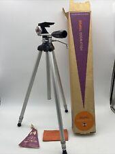 Vintage Hollywood Producer Model Camera Tripod Sturdy Works Great w original box