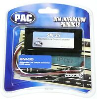PAC SNI-35 SNI35 Adjustable Line out Output Converter