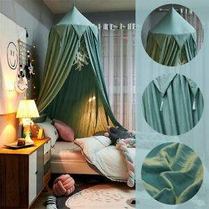 Baby Room Round Bed Canopy Bedcover Kids Mosquito Net Large Bedding Dome Tent