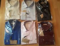 Herren Original Burberry Brit Hemd Shirt Slim Fit S M L XL XXL