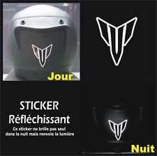 Sticker RETRO-REFLECHISSANTS MT - MT-01 MT-03 MT-07 MT-09 - 6,5cm x 5,5cm