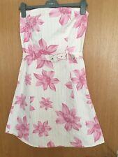 Jane Norman summer Floral mini dress size 12