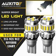 2X 921 LED Reverse Light Canbus Error Free 912 T15 W16W Backup Bulb 2400LM 18SMD