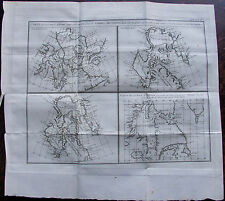 CARTE TERRES ARCTIQUES BAFFINS LABRADOR ESQUIMAUX HUDSON CARTE ORIGINALE DE 1778