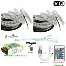 Control Remoto De Teléfono Inteligente WIFI Casa Mágica 5M - 40M 5050 RGBW IP67 LED Impermeable + - PSU