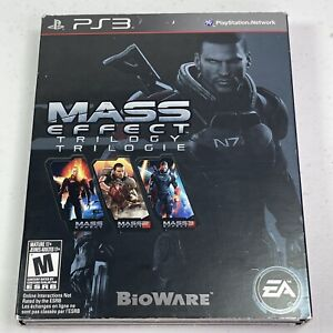 Mass Effect Trilogy - PS3 With Slipcover Complete Tested Works