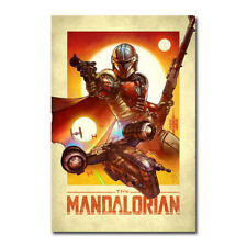 The Mandalorian STAR WARS Movie Poster Art Canvas Silk Poster Print 24x36 inch