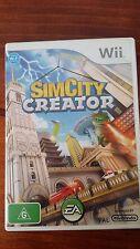 Sim City Creator (Nintendo Wii) Complete PAL 2008 VGC Simulator Kids Family