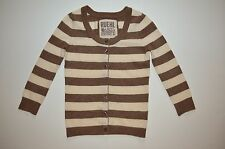 EUC Ruehl cashmere blend striped cardigan sweater by Abercrombie in XS