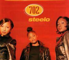Vintage print Radio Music Promo ad 702 Steelo nice image 1996 advertisement