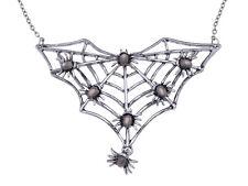 USA Cute Fly Open Wings Owl Baby Diamante Rhinestone Jewelry Pendant Necklace