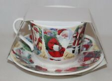 Roy Kirkham Christmas Past Fine Bone China Cup & Saucer Set New