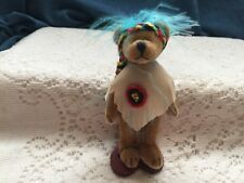 """Springford Miniature jointed bear  4"""" Indian"""