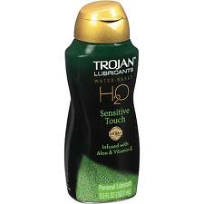 TROJAN Lubricants H2O SENSITIVE TOUCH Water Based Personal Lubricant 5.5 fl oz