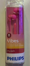 Philips SHE3550 Vibes My Jam In-Ear Headphones ~ New in Package Pink G