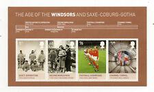 Gb 2012 Kings and Queens 6th.Issue Minisheet with Four Values to £1.00 Mnh.