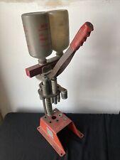 Vintage 1960 MEC 400 SUPER SPEEDER 12Ga Shotshell Reloading Press shotgun gauge