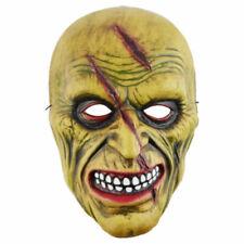 Zombie Maske Tod Dämon Grusel Horror Untoter grün Halloween Karneval Zubehör