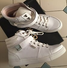 Mimco Brand New Leather Sneakers Heels Wedges Shoes  42 Or 11