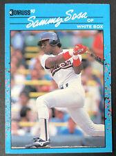 New listing 1990 Donruss Best AL #104 SP Sammy Sosa  Chicago White Sox Rookie Baseball Card