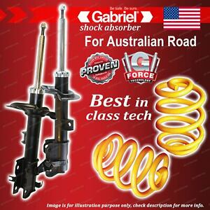 Front Gabriel Ultra Shocks + Lowered King Coil Springs for Nissan Murano Z50