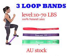 3 Loop Bands HEAVY DUTY RESISTANCE Bands Set  of 3 Light Medium Heavy
