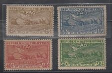 Philippine Stamps 1948 Food & Agriculture (FAO) Conference Complete set MNH dark