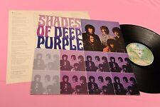 DEEP PURPLE LP SHADES JAPAN EX+ CON INSERTO !!!!!!!!!!!!!!