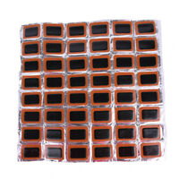 48x Bicycle Tire Tyre Tube Rubber Puncture Patches Road Bike Repair Tool Kits、AU